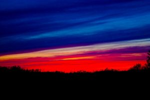 Sunset of many colors by Michel1963