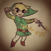 ~Wind Waker Link~ by Belynx16