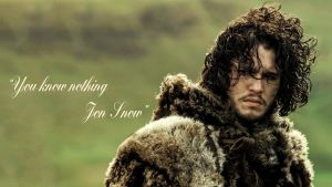You Know Nothing, Jon Snow by btica33