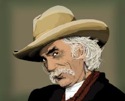 sam elliott by lordtree