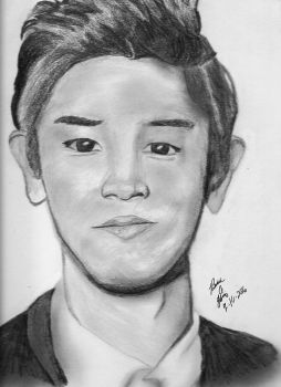 Chanyeol-Gift by sketch7778