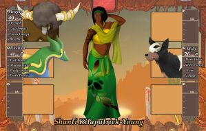 Poke-Biome app: Shanti by Wildbatty