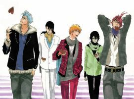 The boys of Bleach 2 by FangsOfPoison