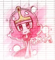 Princess Bubblegum by LillyNya