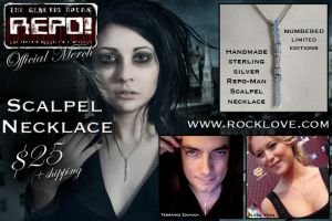 Repo Official Merch Necklace by AelisLaurel