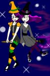 CE:Missys n Jackies Halloween by Star478