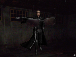 Wesker - Battle Start by Handelo