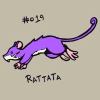 019 Rattata by toadcroaker