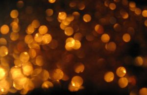 golden bokeh by orbitingasupernova