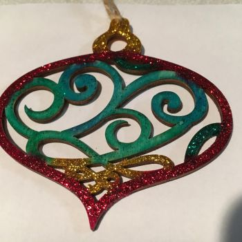 View 5 of Christmas ornament  by wraithsith