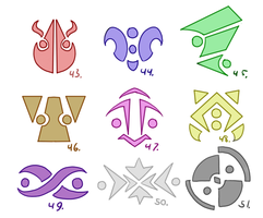 Symbol Compilation 43-51 by Pizaru-Chu