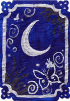 ATC: Butterfly Moon 1 of 4 by GillianIvy