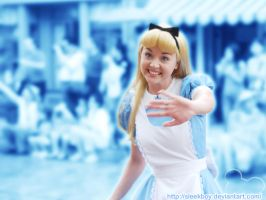 Disney: Alice in Blurry Land by sleekpixels