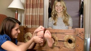 Clemence Poesy tickle fake by the70sguy