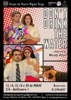 Don't Drink the Water - poster by Aeidailgirl
