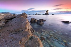 Rainbow hues - Mupe Rocks by ErveMAN
