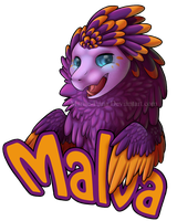 Malva Badge by Mariie-Luna