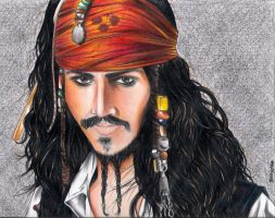 Jack Sparrow by Noranaru