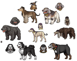 Blackbeard dog crew -UPDATE- by emlan