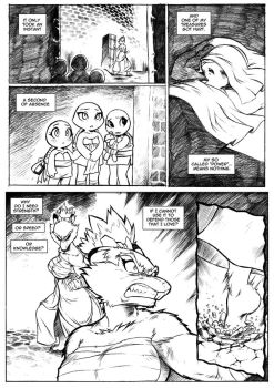 TMNT The Other Beginning Page 4 by chochi