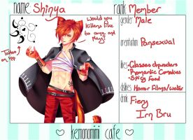 KC app - Shinya (NYA) by UkeHammie