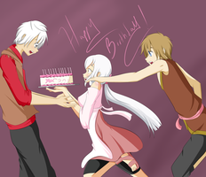Birthday Cake by The-Young-Cetra