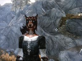 Skyrim Khajiit by SadisticSympathetic