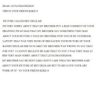 A PIC LETTER  OF HEY DELILAH by keke18
