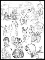 Sketch Page 4 by DamienSaelak