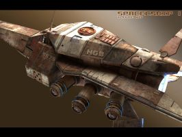 SpaceShip 1 by GeneralPeer