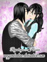ByaSana - Sweet Kiss by AngyValentine