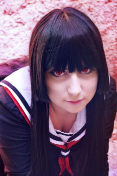 Jigoku Shoujo _ Enma AI _ Cosplay by NeeHime