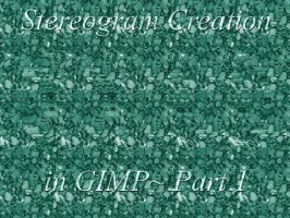 GIMP Stereogram Creation Pt 1 by fence-post
