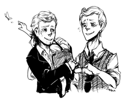 SH: Mystrade kidlock by cannorachan
