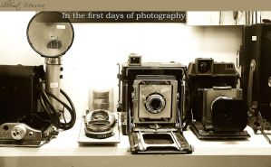 In the first days of photography by ShlomitMessica