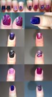 Colorful Watermarble 3 by Czarna712