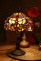 stained glass lamp by Elkinei