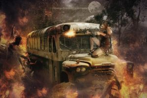 Zombie Apocalypse - The Last Stand by ElementOfOne1