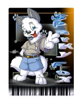 Sparky Fox Tag Badge by Tavi-Munk