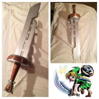 The Legend of Zelda: Razor Sword Replica by Legendofzanon