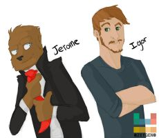 G-Jerome and Igor by o2xygeno