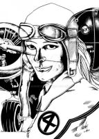 Amelia Earhart and Invisible Woman Mashup by rodneyfyke