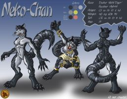 Character Layout - Neko-Chan by Lysozyme