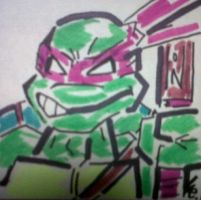Donatello 2003 Sticky Pad by dark-es-will