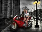 Let's go for a spin little girl (Jake And Sherry) by Real-Ada