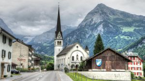 Linthal Glarus Switzerland by damylion