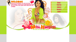 Layout ft. Vanessa Hudgens by believedesign