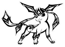 .:Tribal Glaceon:. by MagicaITrevor