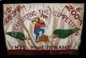 Homecoming Banner, 2004 by GoaliGrlTilDeath