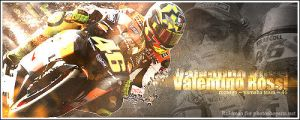 Valentino Rossi by Ruleman
